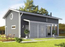 Финский дом из клееного бруса Villa Arthur