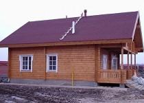 Финский деревянный дом Rudki