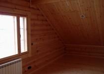 Финский бревенчатый дом Rudki