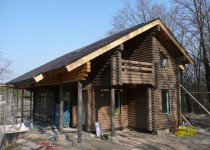 Финский брусовый дом Sanny