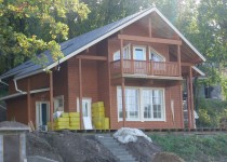 Финский каркасный дом Yaroslav