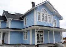 Финский деревянный дом Castle