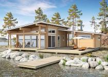 Финский дом из бруса Saari